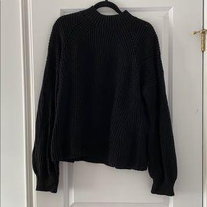 GAP Bubble Sleeve Wool Sweater